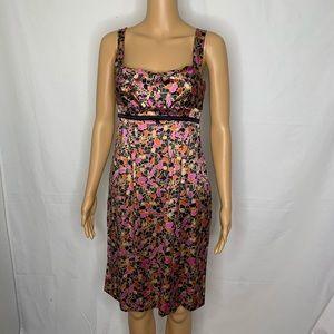 DVF Diane Von Furstenberg Silk Mini Dress Pockets
